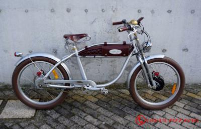 Xe Đạp Điện Italjet Modello Ascot Classic